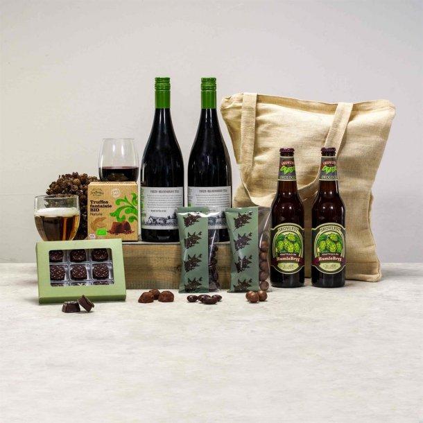 ØKO Gavepakke Louis - vin & chokolade