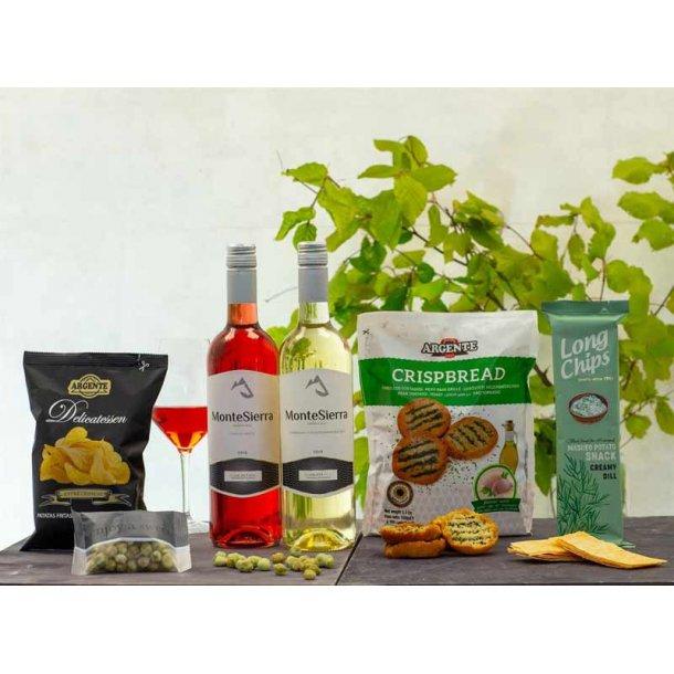 Gavepakke - Sommer i Firenze - vin & chips