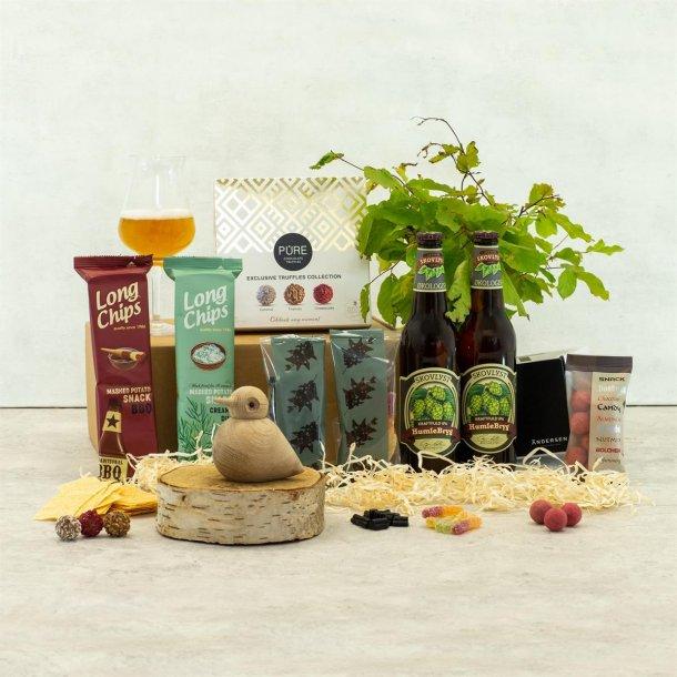 Gavepakke Oda - øl & chokolade, Birdie Andersen