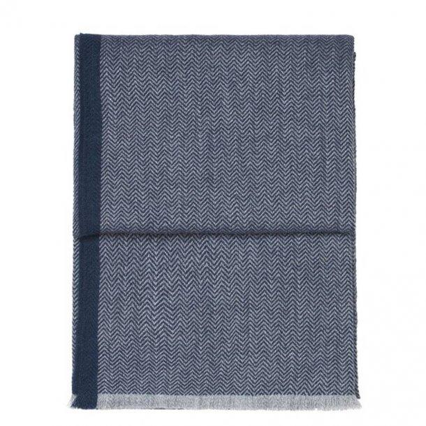 Herringbone plaid - blå