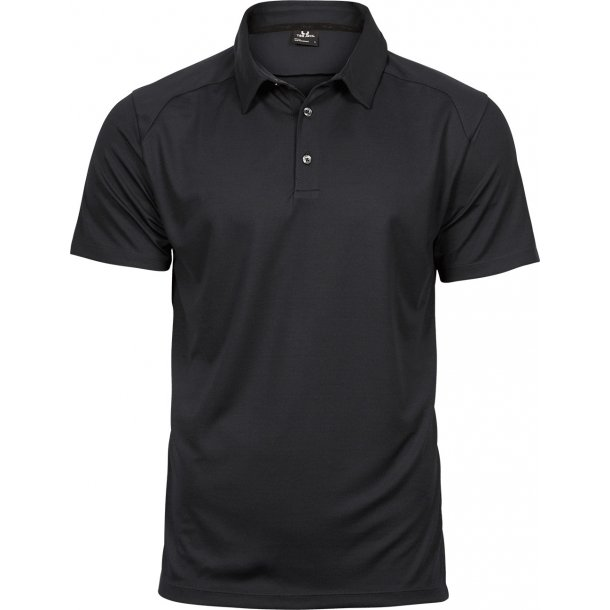 TeeJays Performance polo - sort - herre