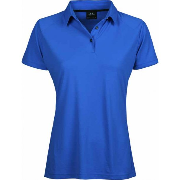 TeeJays Performance polo - blue - dame