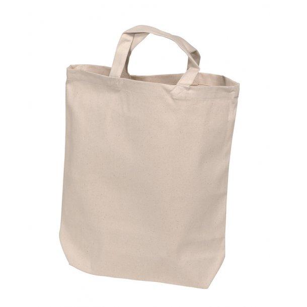 Mulepose med bundfals