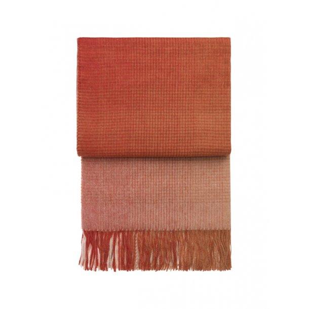 Horizon plaid - Elvang Danmark - pompeian rød / terracotta