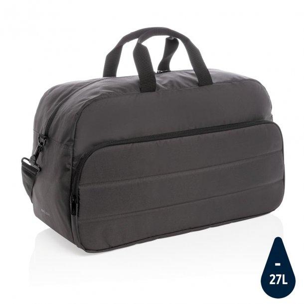 Weekend taske duffel - rPET - sort