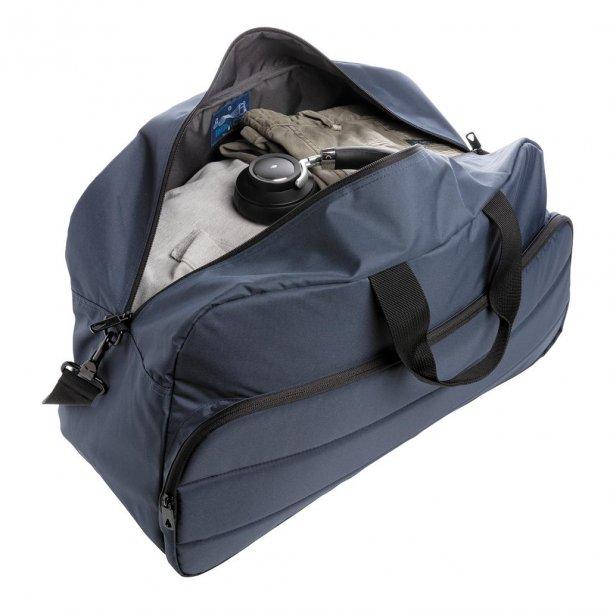 Weekend taske duffel - rPET - blå