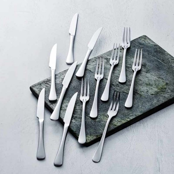 Gense Sylvia steak/grillbestik blank stål - 12 dele