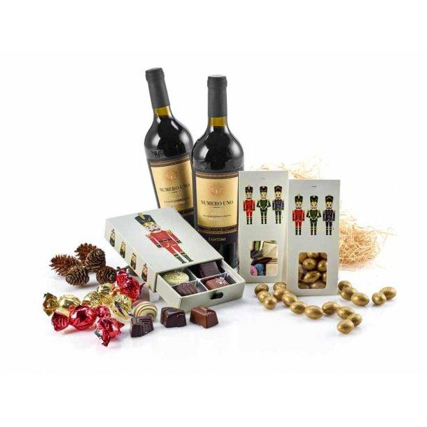 Glædelig Jul - vin & chokolade
