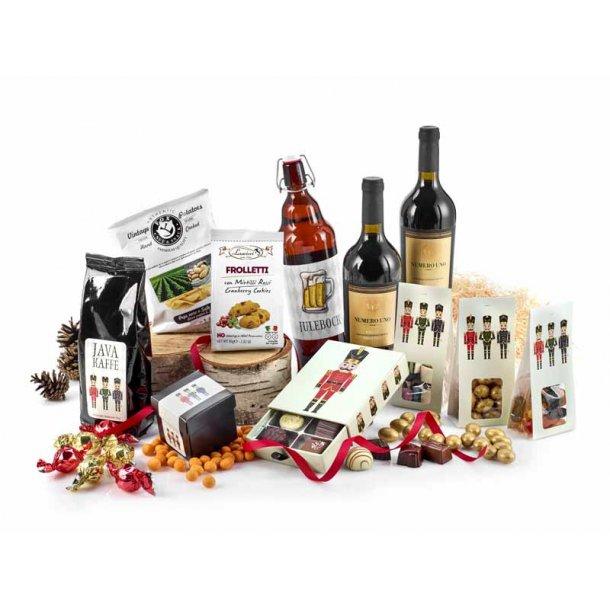 Hyggepakken - vin & chokolade