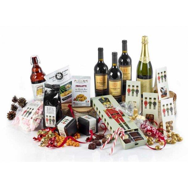 Gylden jul - vin & chokolade