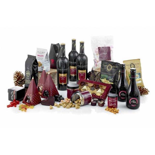 Merry Christmas - vin & chokolade