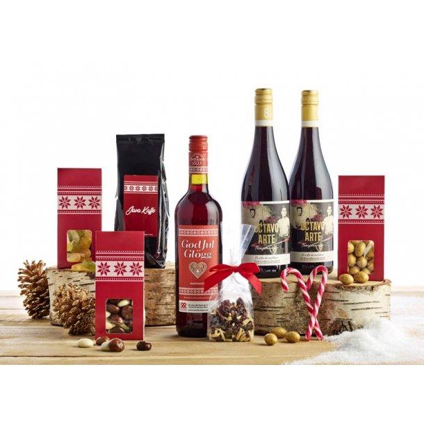 Julehygge - vin & chokolade