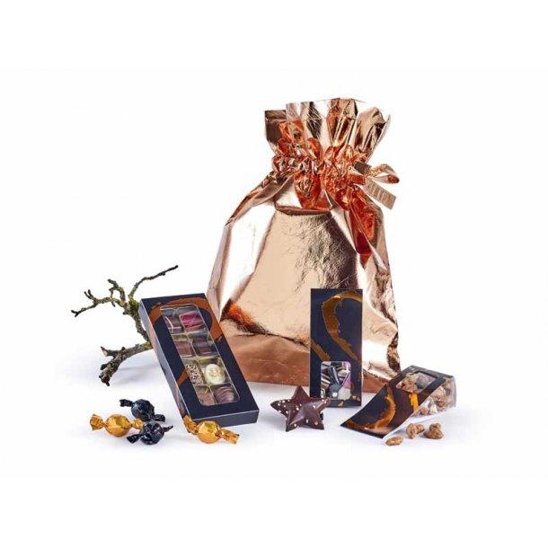 Bronzeposen - m/ chokolade