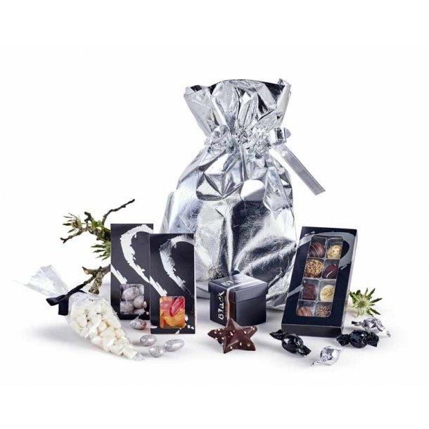 Sølvposen - m/ chokolade & lakrids