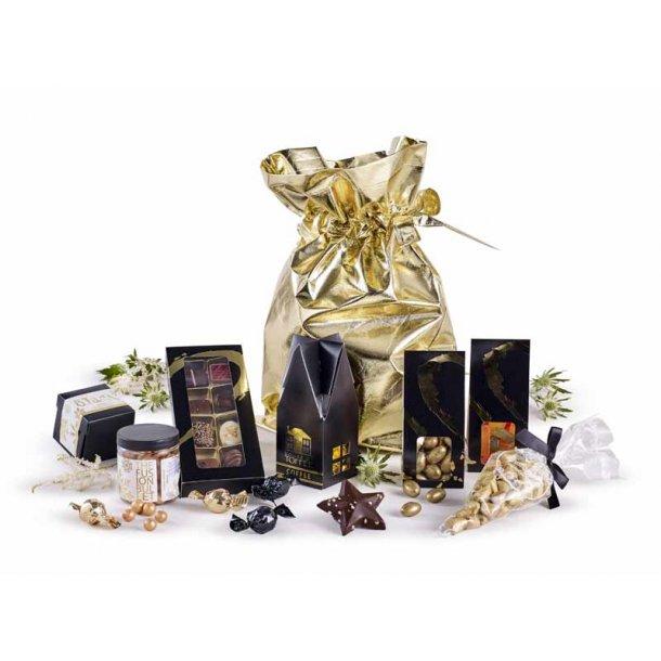 Guldposen- m/ chokolade & lakrids