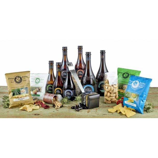 Erik Bagger oplukker & Italienske gourmet øl & snacks