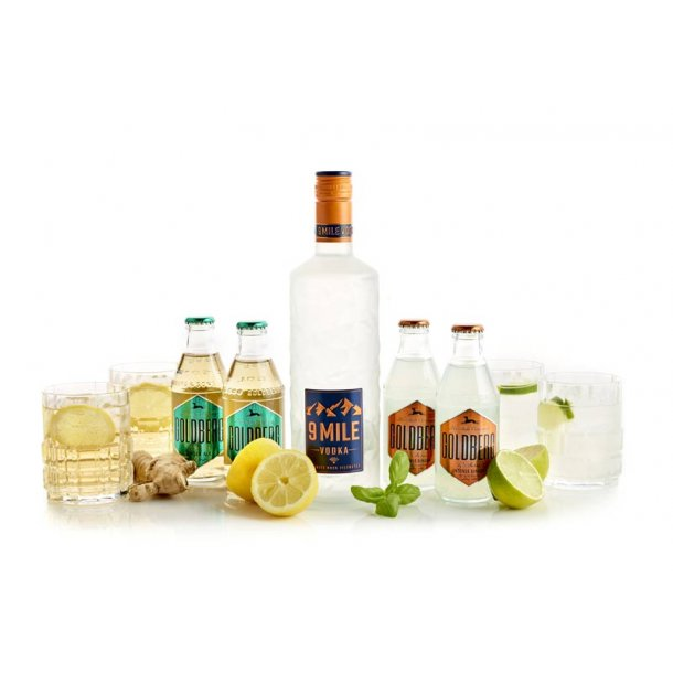 Vodka & mixer - gaveæske