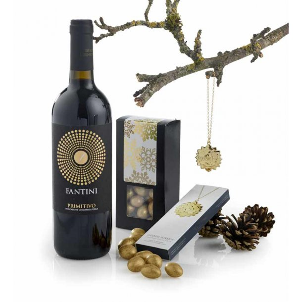 Julepynt Georg Jensen - vin & chokolade