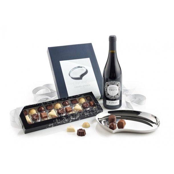Georg Jensen Bloom fad, Rødvin & chokolade