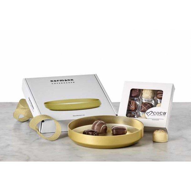 Normann Copenhagen Fad  guld & chokolade