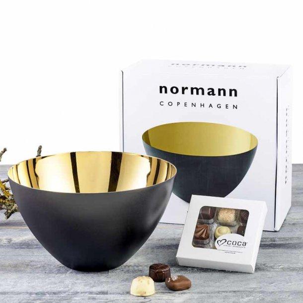 Normann Copenhagen Krenit skål 25 & chokolade