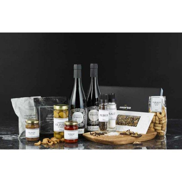 Morsø skærebræt- vin & delikatesser