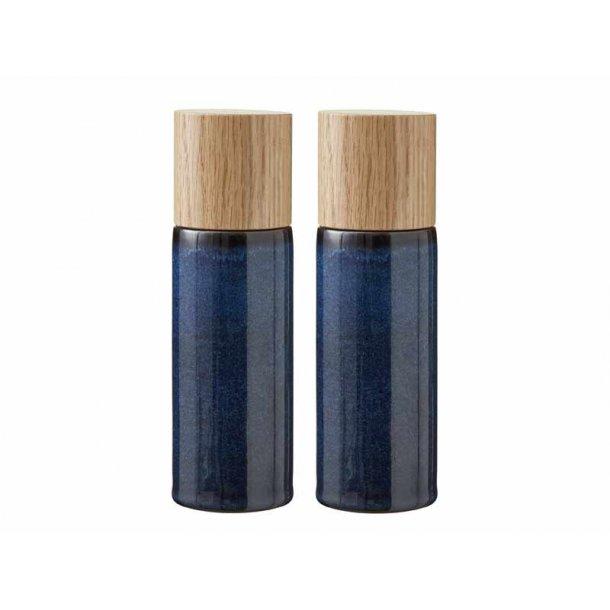 BITZ salt & pebersæt - mørkeblå