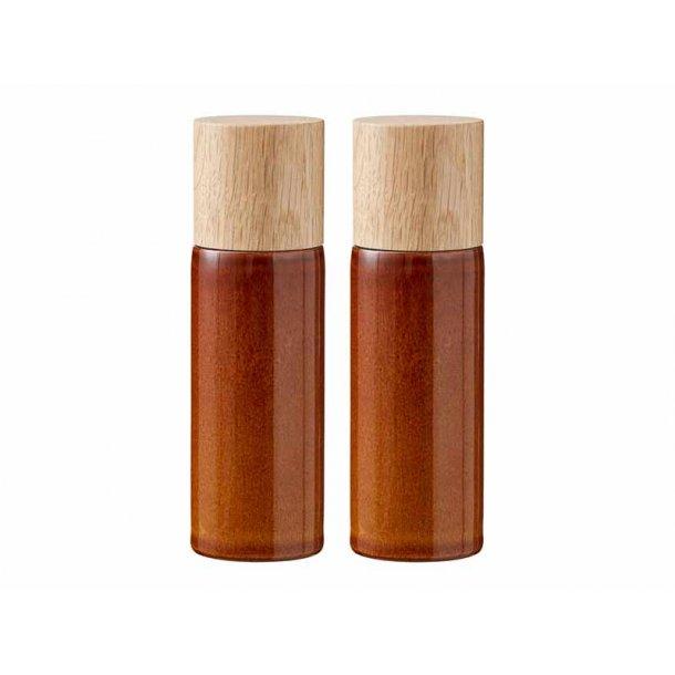 BITZ salt & pebersæt - amber