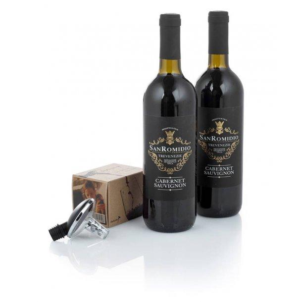 Cabernet rødvin & m/ Oxy Twister