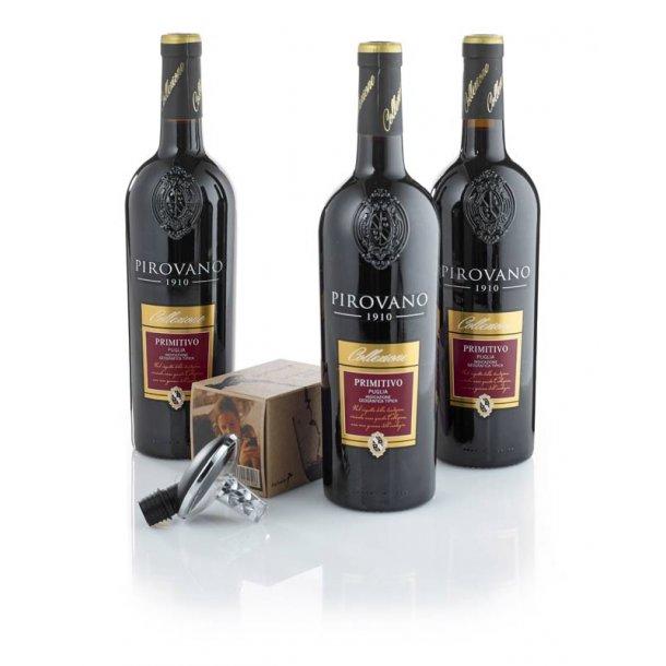Primitivo rødvin & m/ Oxy Twister