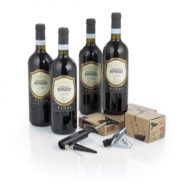 Ripasso Italiensk rødvin & m/ Oxy & Corky Twister