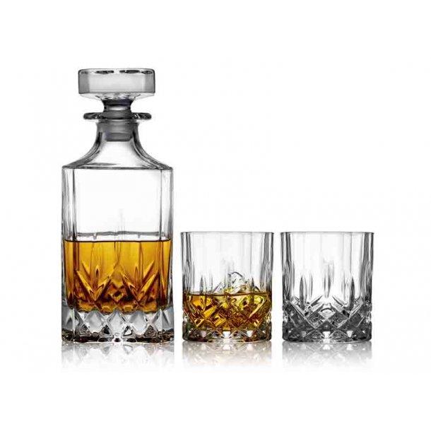 Lounge Whiskysæt Lyngby - 3 dele