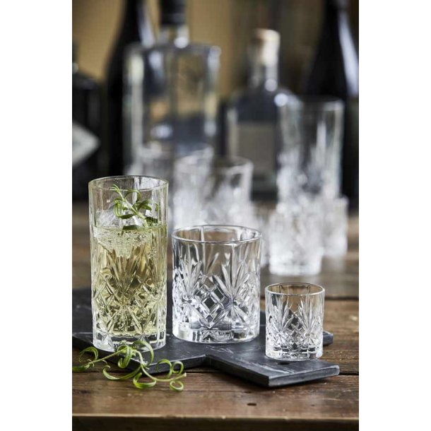 Lyngby Glas - Glassæt - 12 dele Melodia glas