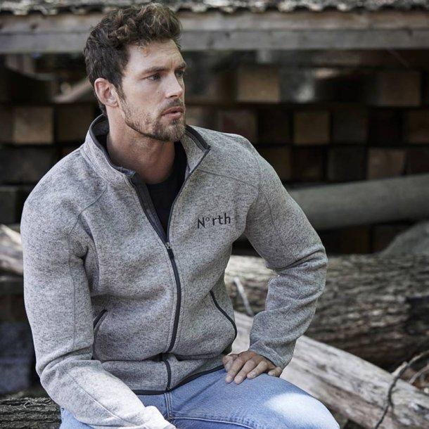 Outdoor fleece jakke