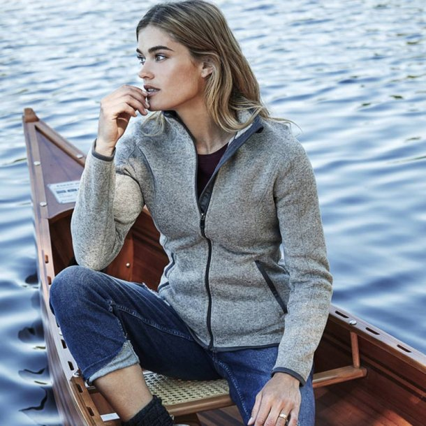 Outdoor fleece jakke - dame
