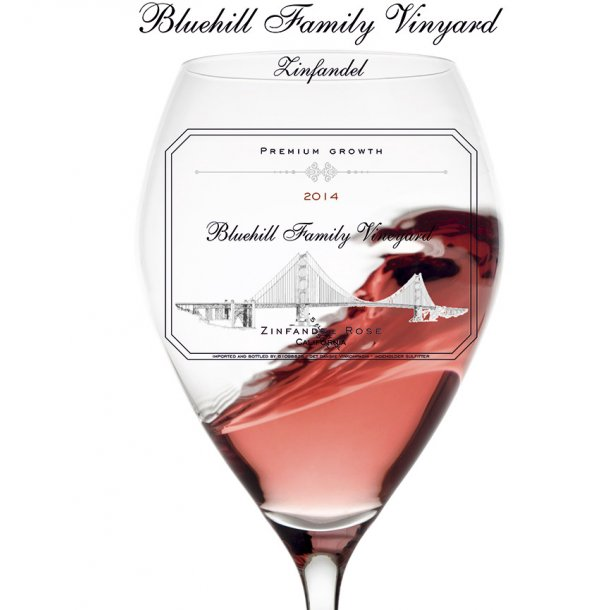 Bluehill Family Vineyard - Zinfandel  Rose