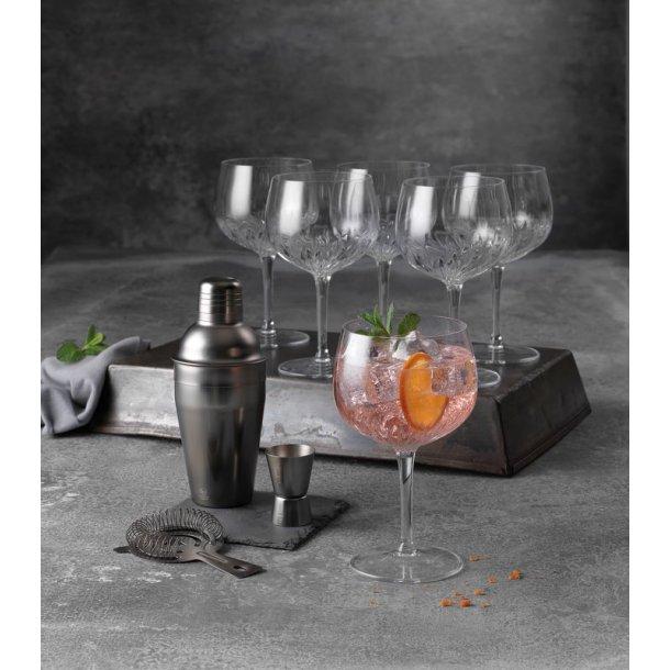 Gin & tonic glas & barsæt - gavesæt
