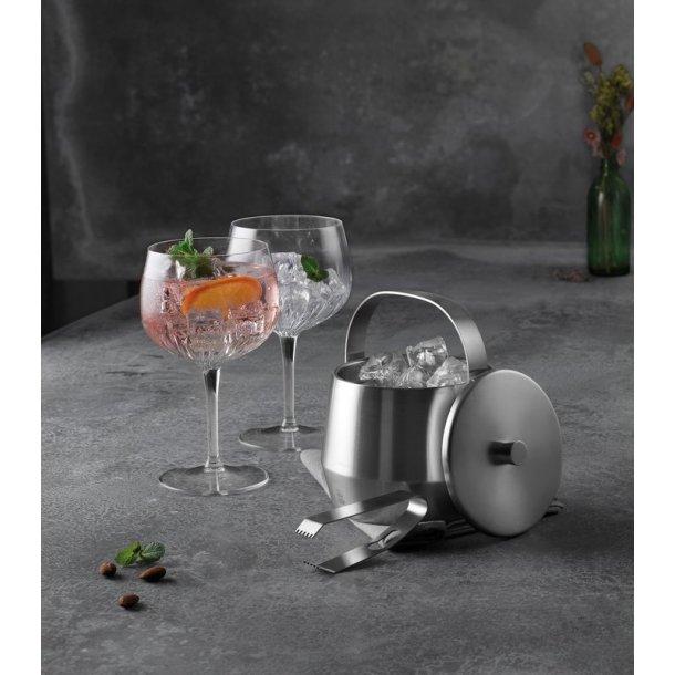 Gin & tonic glas & Bredemeijer isspand - gavesæt