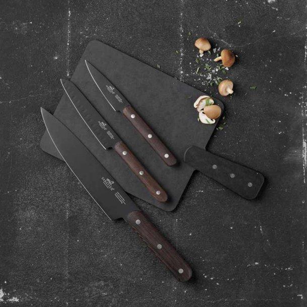 Sabatier knivsæt 3 stk. & serveringsbræt - gavesæt