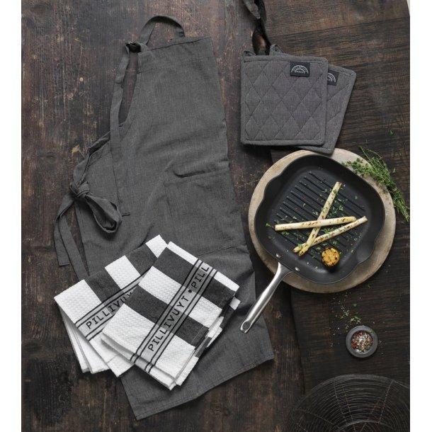 Pillivuyt Garonne  grillpande & Pillivuyt tekstil 5 dele