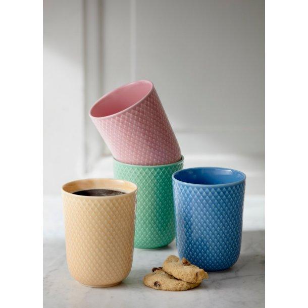 Lyngby porcelænkrus - Rhombe color krus