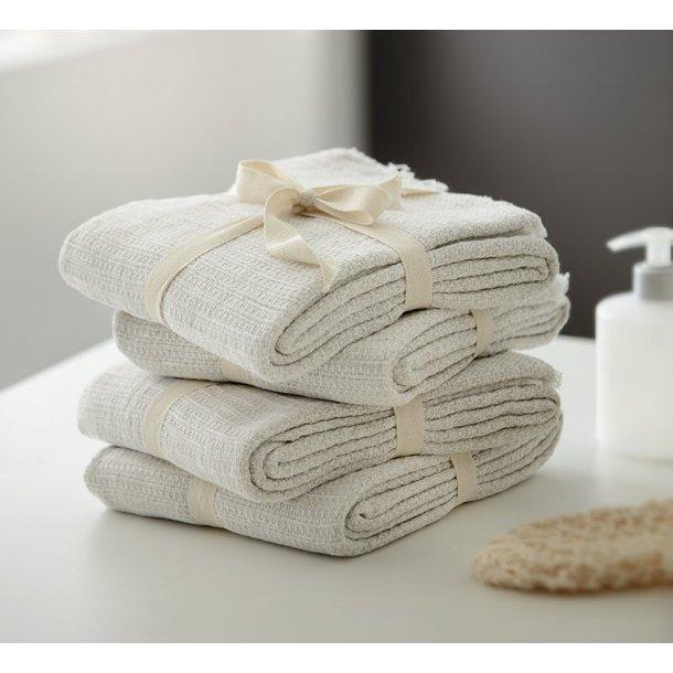 Juna håndklæder - 100% økologisk bomuld