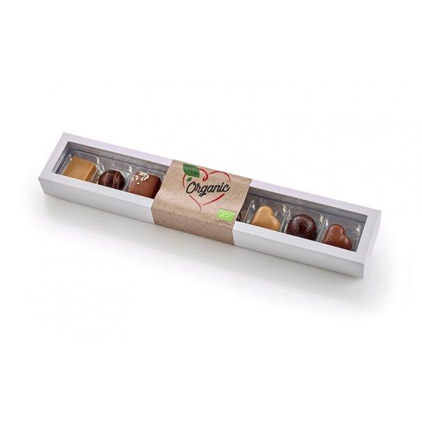 Økologisk luksuschokolade - 8 stk.