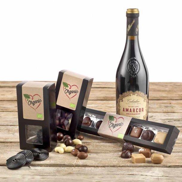 Vin & chokolade - økokasse 2