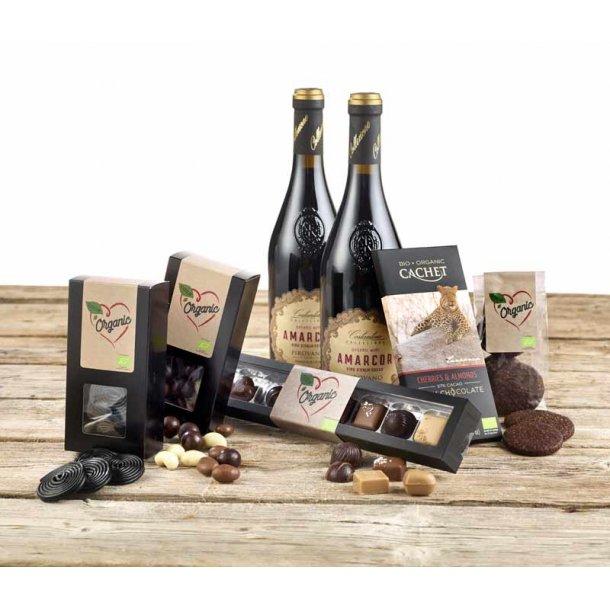 Vin & chokolade - økokasse 3