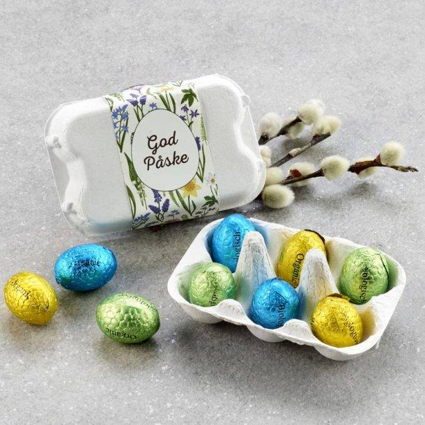 Æggebakke m/økologiske luksusæg - 6 stk