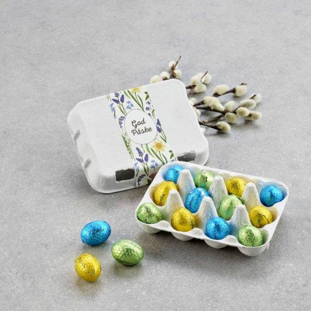 Æggebakke m/økologiske luksusæg - 12 stk