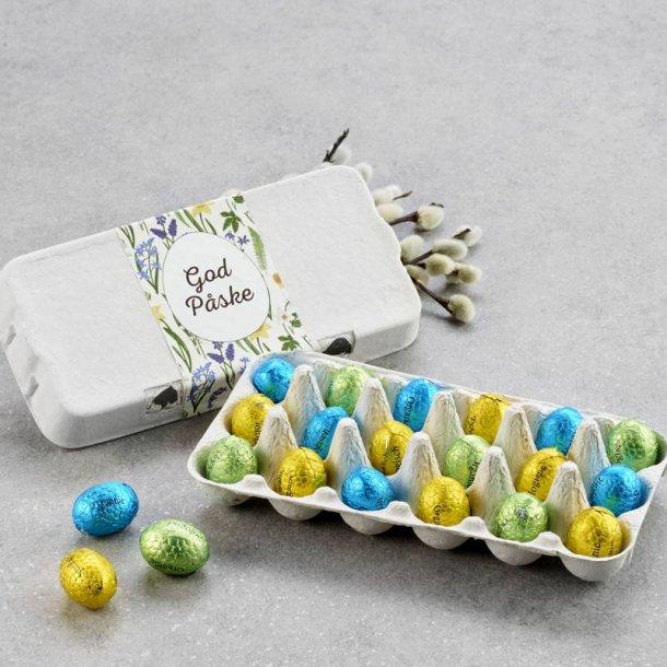 Æggebakke m/økologiske luksusæg - 18 stk