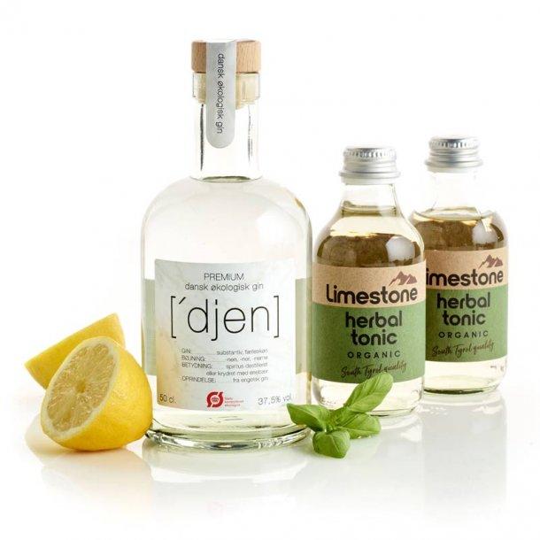 Økologisk Djen Gin & tonic