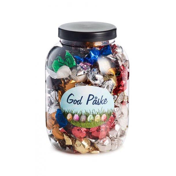 God påske - plastbøtte m/mixede balls - 1200g